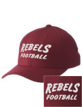 Sport a cool pro look on the field or in the stands with this Reeltown High School cap. It's made of high-quality wool with a comfortable cotton sweatband.