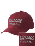 Sport a cool pro look on the field or in the stands with this UMS High School cap. It's made of high-quality wool with a comfortable cotton sweatband.