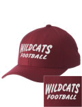 Sport a cool pro look on the field or in the stands with this Millry High School cap. It's made of high-quality wool with a comfortable cotton sweatband.