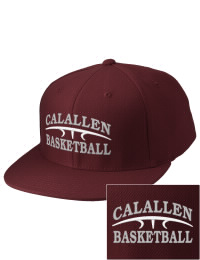 Sport a cool custom pro look, for yourself or the whole team, with this Calallen High School Wildcats fitted embroidered cap. The Calallen High School Wildcats sportswear hat is made from innovative poly-wool performance fabric with black underbill and a fiber-tech visor board that is flat as can be, allowing you to bend it -- or not -- however you like your merchandise.
