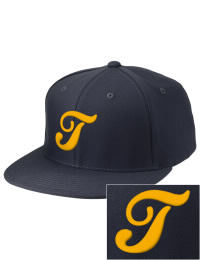 Sport a cool custom pro look, for yourself or the whole team, with this Truman High School Blue Jays fitted embroidered cap. The Truman High School Blue Jays sportswear hat is made from innovative poly-wool performance fabric with black underbill and a fiber-tech visor board that is flat as can be, allowing you to bend it -- or not -- however you like your merchandise.