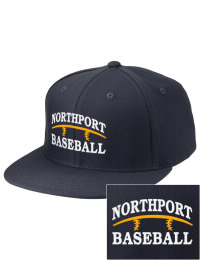Sport a cool custom pro look, for yourself or the whole team, with this Northport High School Tigers fitted embroidered cap. The Northport High School Tigers sportswear hat is made from innovative poly-wool performance fabric with black underbill and a fiber-tech visor board that is flat as can be, allowing you to bend it -- or not -- however you like your merchandise.