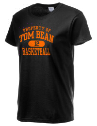 Ultra cotton comfort for the softest feel against your skin. The Tom Bean High School Tomcats crewneck T-shirt features a seamless collar for added comfort.