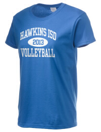 Ultra cotton comfort for the softest feel against your skin. The Hawkins ISD School Hawks crewneck T-shirt features a seamless collar for added comfort.