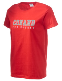 Ultra cotton comfort for the softest feel against your skin. The Conard High School Chieftains crewneck T-shirt features a seamless collar for added comfort.