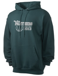 Crafted for comfort, this lighter weight Pine Crest School Panthers hooded sweatshirt is perfect for relaxing and it's a real value for a sportswear hoody. A must have for the serious Pine Crest School Panthers apparel and merchandise collection. 50/50 cotton/poly fleece hoodie with two-ply hood, dyed-to-match drawcord, set-in sleeves, and front pouch pocket round out the features of a Panthers hooded sweatshirt.