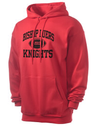 Crafted for comfort, this lighter weight Bishop Luers High School Knights hooded sweatshirt is perfect for relaxing and it's a real value for a sportswear hoody. A must have for the serious Bishop Luers High School Knights apparel and merchandise collection. 50/50 cotton/poly fleece hoodie with two-ply hood, dyed-to-match drawcord, set-in sleeves, and front pouch pocket round out the features of a Knights hooded sweatshirt.