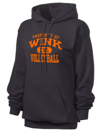 Crafted for comfort, this lighter weight Wink High School Wildcats hooded sweatshirt is perfect for relaxing and it's a real value for a sportswear hoody. A must have for the serious Wink High School Wildcats apparel and merchandise collection. 50/50 cotton/poly fleece hoodie with two-ply hood, dyed-to-match drawcord, set-in sleeves, and front pouch pocket round out the features of a Wildcats hooded sweatshirt.