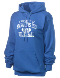 Crafted for comfort, this lighter weight Hawkins ISD School Hawks hooded sweatshirt is perfect for relaxing and it's a real value for a sportswear hoody. A must have for the serious Hawkins ISD School Hawks apparel and merchandise collection. 50/50 cotton/poly fleece hoodie with two-ply hood, dyed-to-match drawcord, set-in sleeves, and front pouch pocket round out the features of a Hawks hooded sweatshirt.