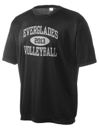 Take on your opponents in maximum comfort in this performance t-shirt. The Everglades High School Gators Competitor crewneck T-Shirt is lightweight and offers a roomy, athletic look and helps control moisture.