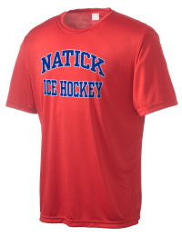 Take on your opponents in maximum comfort in this performance t-shirt. The Natick High School Redhawks Competitor crewneck T-Shirt is lightweight and offers a roomy, athletic look and helps control moisture.