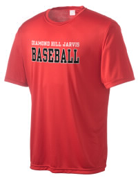 Take on your opponents in maximum comfort in this performance t-shirt. The Diamond Hill Jarvis High School Eagles Competitor crewneck T-Shirt is lightweight and offers a roomy, athletic look and helps control moisture.