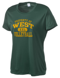 Take on your opponents in maximum comfort. The West High School Trojans Competitor T-Shirt is lightweight and offers a roomy, athletic look and helps control moisture.