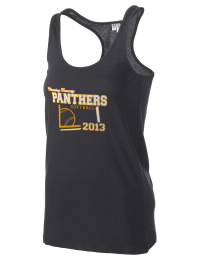 The Fleming County High School Panthers District Threads Racerback Tank is semi-fitted for a flattering look and perfect for layering. Racerback detail lends casual, athletic style.