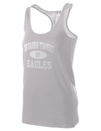 The Egg Harbor Township Middle School Eagles District Threads Racerback Tank is semi-fitted for a flattering look and perfect for layering. Racerback detail lends casual, athletic style.