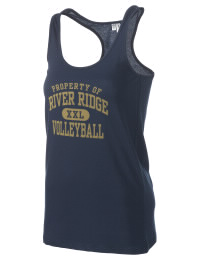 The River Ridge High School Knights District Threads Racerback Tank is semi-fitted for a flattering look and perfect for layering. Racerback detail lends casual, athletic style.
