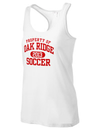 The Oak Ridge High School War Eagles District Threads Racerback Tank is semi-fitted for a flattering look and perfect for layering. Racerback detail lends casual, athletic style.