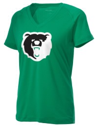 The Ladies Ultimate Performance V-Neck Union City Area High School Bears tee is perfect for your active lifestyle.  The V-neck performance t-shirt is made with moisture wicking fabric and has a soft, cotton-like feel. This layerable Union City Area High School Bears V-neck tee is sure to become a favorite on and off the court.