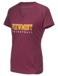 The Ladies Ultimate Performance V-Neck Viewmont High School Vikings tee is perfect for your active lifestyle.  The V-neck performance t-shirt is made with moisture wicking fabric and has a soft, cotton-like feel. This layerable Viewmont High School Vikings V-neck tee is sure to become a favorite on and off the court.