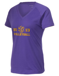 The Ladies Ultimate Performance V-Neck Madison County High School Tigers tee is perfect for your active lifestyle.  The V-neck performance t-shirt is made with moisture wicking fabric and has a soft, cotton-like feel. This layerable Madison County High School Tigers V-neck tee is sure to become a favorite on and off the court.