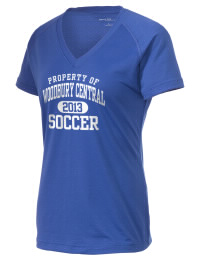 The Ladies Ultimate Performance V-Neck Woodbury Central School Wildcats tee is perfect for your active lifestyle.  The V-neck performance t-shirt is made with moisture wicking fabric and has a soft, cotton-like feel. This layerable Woodbury Central School Wildcats V-neck tee is sure to become a favorite on and off the court.