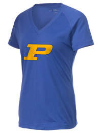 The Ladies Ultimate Performance V-Neck Parker High School Broncs tee is perfect for your active lifestyle.  The V-neck performance t-shirt is made with moisture wicking fabric and has a soft, cotton-like feel. This layerable Parker High School Broncs V-neck tee is sure to become a favorite on and off the court.