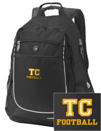 A go-anywhere Twiggs County High School Cobras backpack design in a streamlined size that's engineered to hold all the essentials in place. Convenient dual-side mesh water bottle pockets, and front pocket with organizer panel. Great for Twiggs County High School Cobras fan gear.