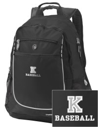 A go-anywhere Kee High School Hawks backpack design in a streamlined size that's engineered to hold all the essentials in place. Convenient dual-side mesh water bottle pockets, and front pocket with organizer panel. Great for Kee High School Hawks fan gear.