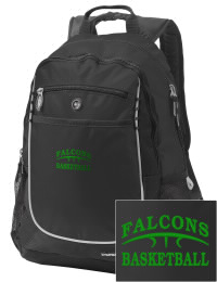 A go-anywhere Lake County High School Falcons backpack design in a streamlined size that's engineered to hold all the essentials in place. Convenient dual-side mesh water bottle pockets, and front pocket with organizer panel. Great for Lake County High School Falcons fan gear.
