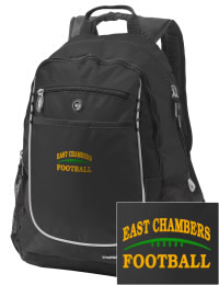 A go-anywhere East Chambers High Buccaneers backpack design in a streamlined size that's engineered to hold all the essentials in place. Convenient dual-side mesh water bottle pockets, and front pocket with organizer panel. Great for East Chambers High Buccaneers fan gear.