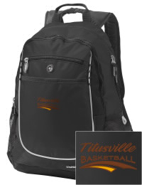 A go-anywhere Titusville High School Rockets backpack design in a streamlined size that's engineered to hold all the essentials in place. Convenient dual-side mesh water bottle pockets, and front pocket with organizer panel. Great for Titusville High School Rockets fan gear.