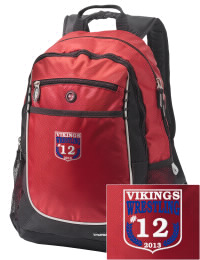 A go-anywhere A H S T Community High School Vikings backpack design in a streamlined size that's engineered to hold all the essentials in place. Convenient dual-side mesh water bottle pockets, and front pocket with organizer panel. Great for A H S T Community High School Vikings fan gear.