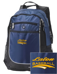 A go-anywhere Laton High School Mustangs backpack design in a streamlined size that's engineered to hold all the essentials in place. Convenient dual-side mesh water bottle pockets, and front pocket with organizer panel. Great for Laton High School Mustangs fan gear.