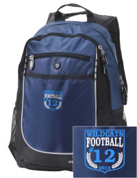 A go-anywhere Camden County High School Wildcats backpack design in a streamlined size that's engineered to hold all the essentials in place. Convenient dual-side mesh water bottle pockets, and front pocket with organizer panel. Great for Camden County High School Wildcats fan gear.