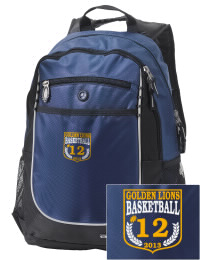 A go-anywhere Gahanna Lincoln High School Golden Lions backpack design in a streamlined size that's engineered to hold all the essentials in place. Convenient dual-side mesh water bottle pockets, and front pocket with organizer panel. Great for Gahanna Lincoln High School Golden Lions fan gear.