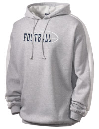 Get a little two-tone style with this custom tackle twill Truman High School Blue Jays hoodie. It's colorfast so it will look sharp wash after wash, and it resists shrinking so it will keep its roomy fit. The sleeve stripe helps it stand apart from the rest of the hoodies in the crowd.