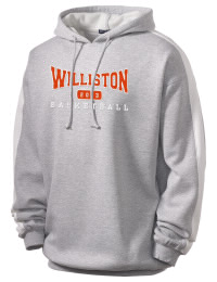 Get a little two-tone style with this custom tackle twill Williston High School Coyotes hoodie. It's colorfast so it will look sharp wash after wash, and it resists shrinking so it will keep its roomy fit. The sleeve stripe helps it stand apart from the rest of the hoodies in the crowd.