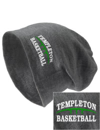 On the street or on the slopes, stay warm and look cool in this Templeton Elementary School Eagles knit hat. An acyrlic/polyester blend beanie with a snug yet slouchy fit. Embroidery will not be on center front, but off centered to the left.