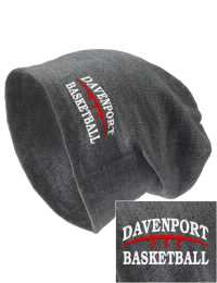 On the street or on the slopes, stay warm and look cool in this Davenport Elementary School Gorillas knit hat. An acyrlic/polyester blend beanie with a snug yet slouchy fit. Embroidery will not be on center front, but off centered to the left.