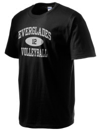 This custom Everglades High School Gators crewneck t-shirt with a seamless collar turns a classic into an ultra comfortable apparel choice. Customize this t-shirt with your favorite Gators design and personalize with your Everglades High School Gators year. Choose your custom design for your tee and wear this customized t-shirt proudly.