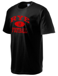 This custom Rye High School Garnets crewneck t-shirt with a seamless collar turns a classic into an ultra comfortable apparel choice. Customize this t-shirt with your favorite Garnets design and personalize with your Rye High School Garnets year. Choose your custom design for your tee and wear this customized t-shirt proudly.