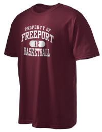 This custom Freeport High School Falcons crewneck t-shirt with a seamless collar turns a classic into an ultra comfortable apparel choice. Customize this t-shirt with your favorite Falcons design and personalize with your Freeport High School Falcons year. Choose your custom design for your tee and wear this customized t-shirt proudly.