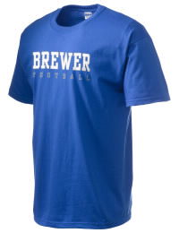 This custom Brewer High School Bears crewneck t-shirt with a seamless collar turns a classic into an ultra comfortable apparel choice. Customize this t-shirt with your favorite Bears design and personalize with your Brewer High School Bears year. Choose your custom design for your tee and wear this customized t-shirt proudly.